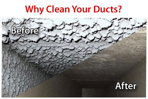 Keep your home ducts clean - enjoy fresh air year round